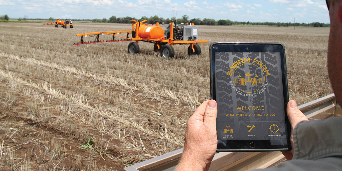 robotics and farming systems work