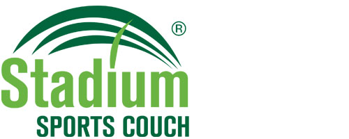 stadium sports couch lawn