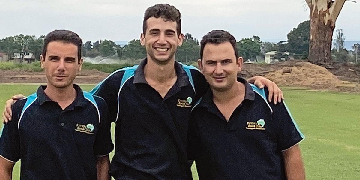 Third generation Mifsud boys – Johnathan, Edward and Michael.