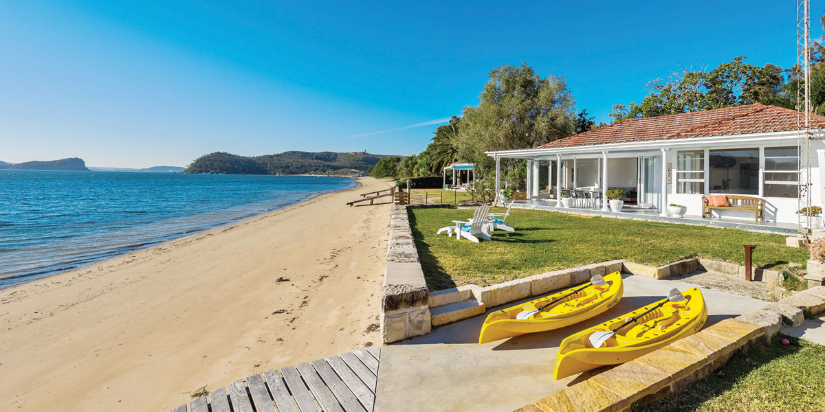 beach properties with lawns sell better