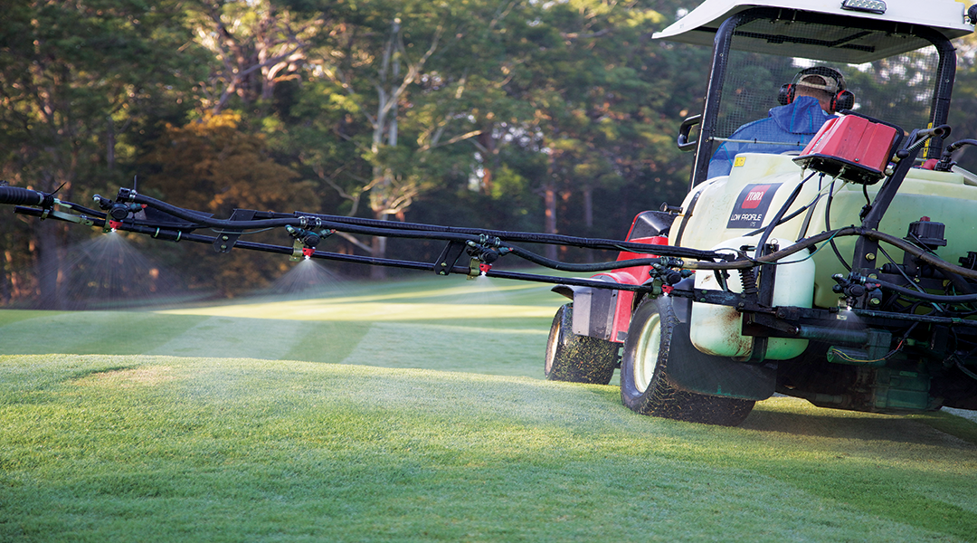 Right chemical product, right on target: the key to turf success