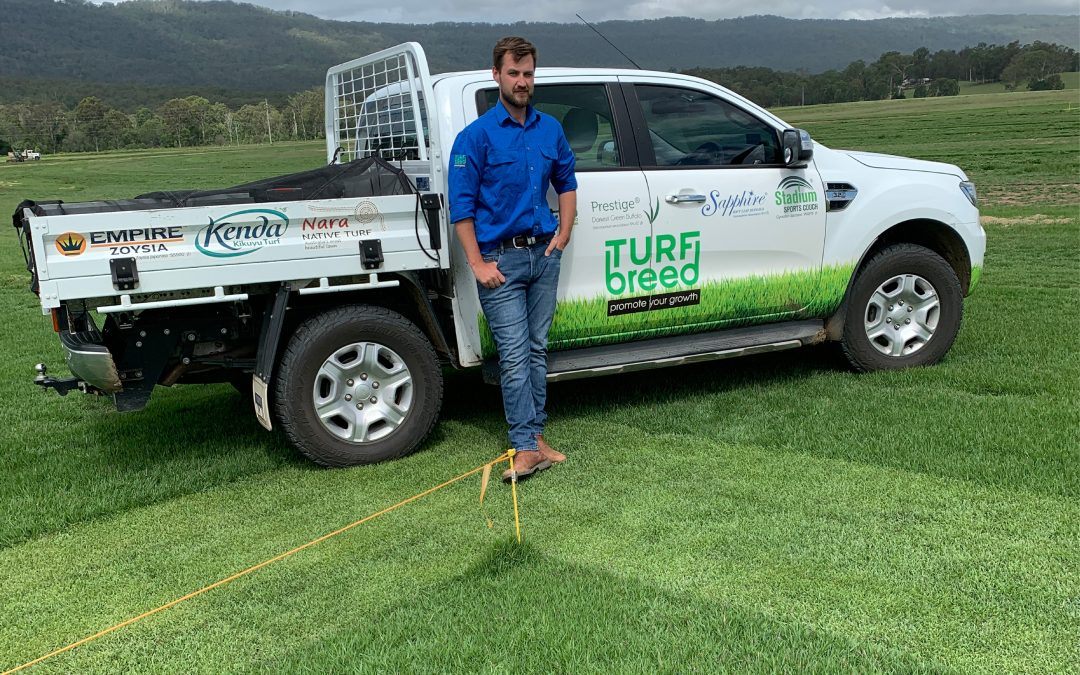 TurfBreed's Dr Andrew Fletcher – creating a turf R&D program