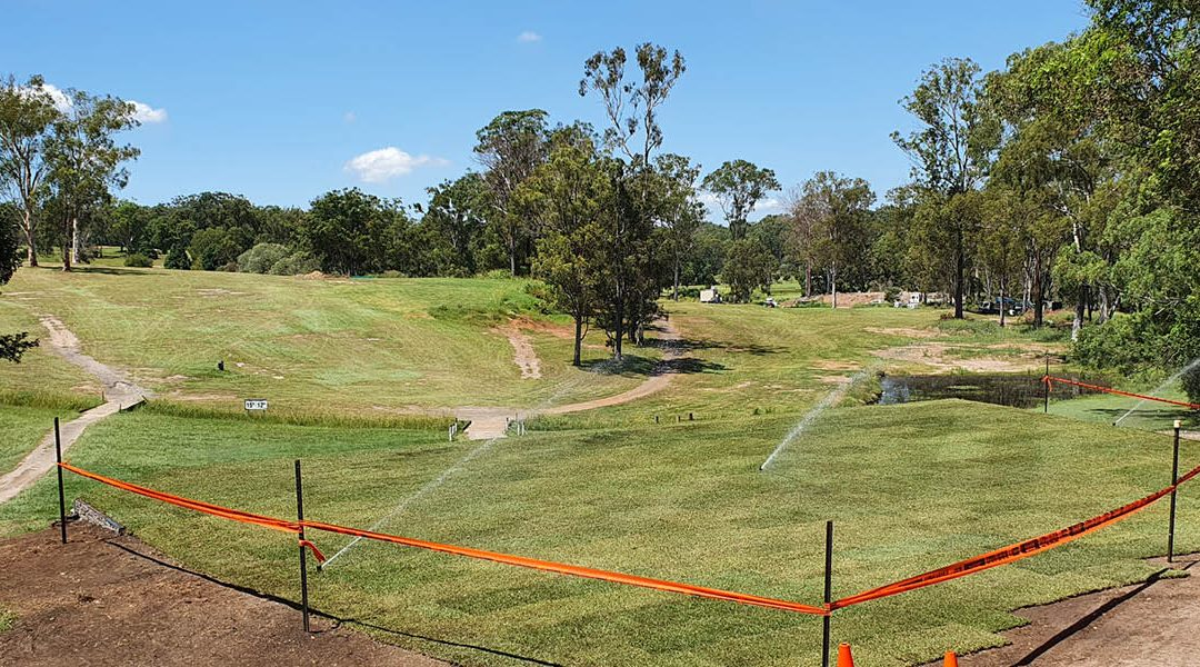 A first – Nara Native Zoysia 'teeing' well on golf courses